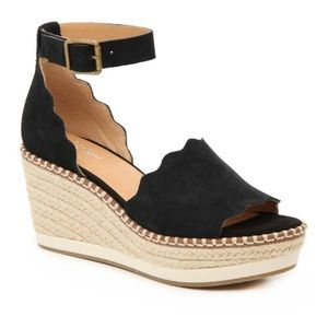 Crown Vintage Daffodil Espadrille Wedge Sandal
